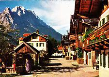 Frühlingstraße in Garmisch-Partenkirchen ,1962 gelaufene AK
