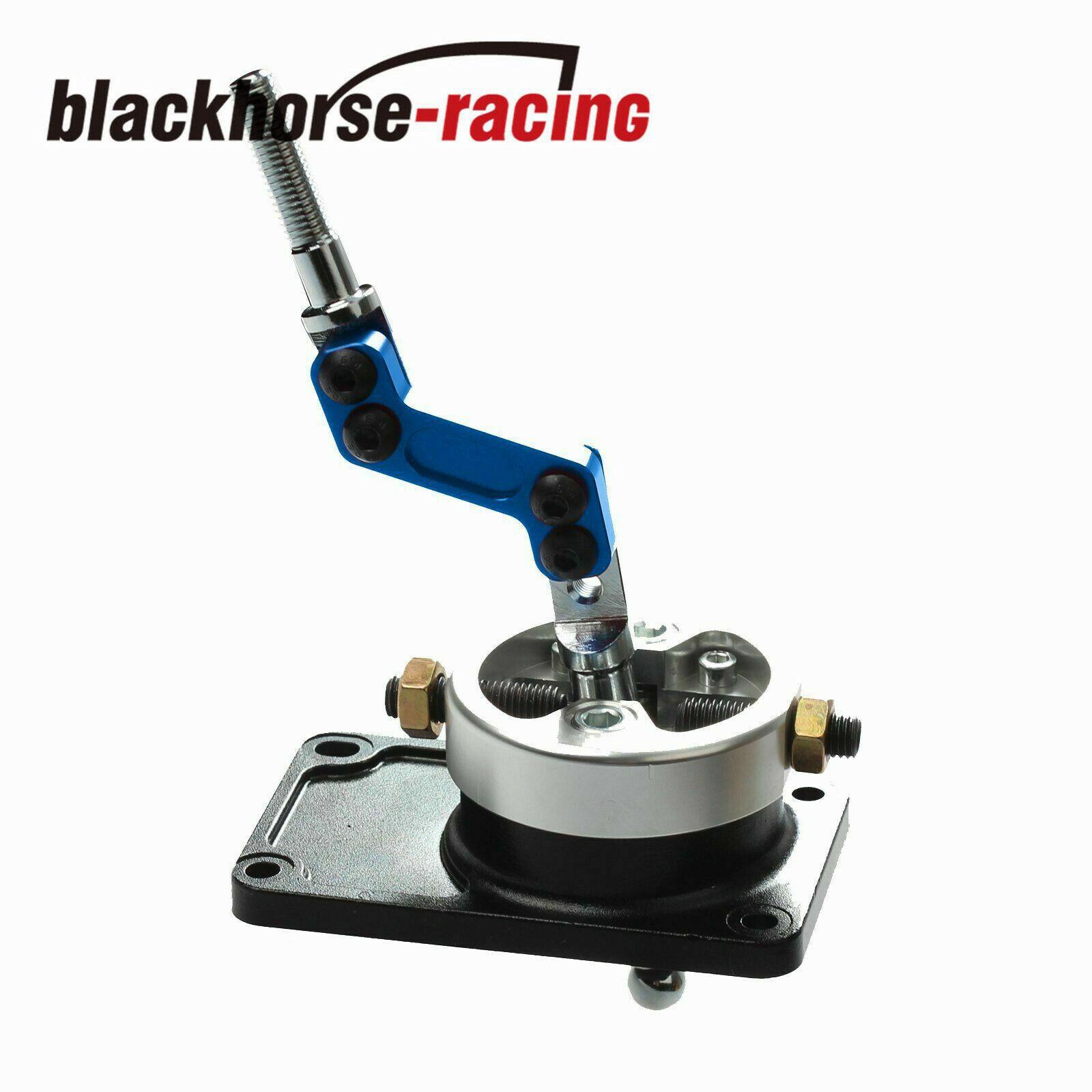 Blue Car Short Shifter,Short Shift Lever Racing Bend SHORT THROW SHIFTER Throw Gear Shifter Lever for Ford Mustang T5