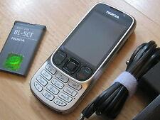 Nokia  Classic 6303i - Steel / ohne Simlock / mit Folie / TOPP