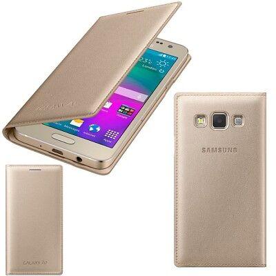 detailed look 2f48c 20184 Genuine Samsung FLIP CASE GALAXY A3 SM A300FU mobile cell phone cover  original | eBay