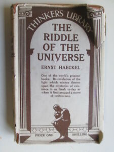 Good-The-riddle-of-the-universe-The-Thinker-039-s-library-Haeckel-Ernst-Heinr