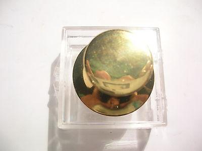 Serio P-ab4-039 Diam21 H17 Pomolo Restauro Mobile Brass Old Style Vintage Asciugare Senza Stirare
