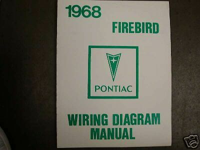 1968 Pontiac Firebird Trans Am Wiring Manual | eBay