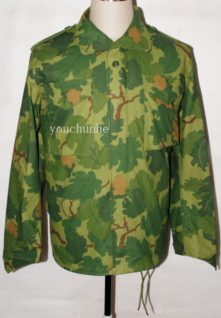 VIETNAM WAR US MITCHELL CAMO M65 FIELD JACKET XL-31724