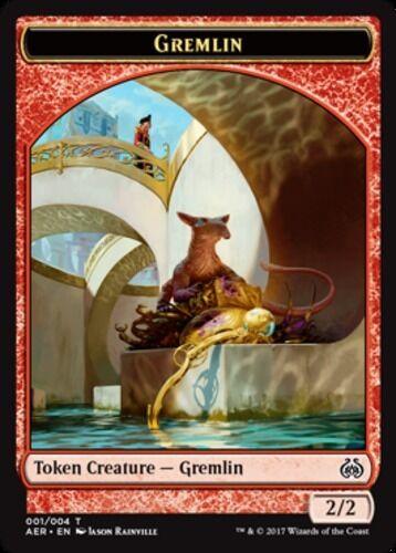 English x4 Gremlin Token MTG Aether Revolt C M//NM
