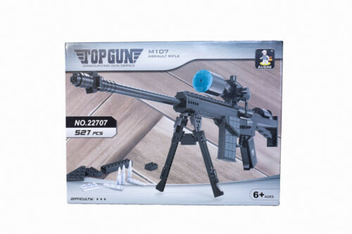 Aussini AUS-22707 Barett M107 Scharfschützengewehr Modellbau Klemmbaustein