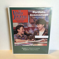 Portfolio Assessment Video Journal of Education School Teacher Resource VHS