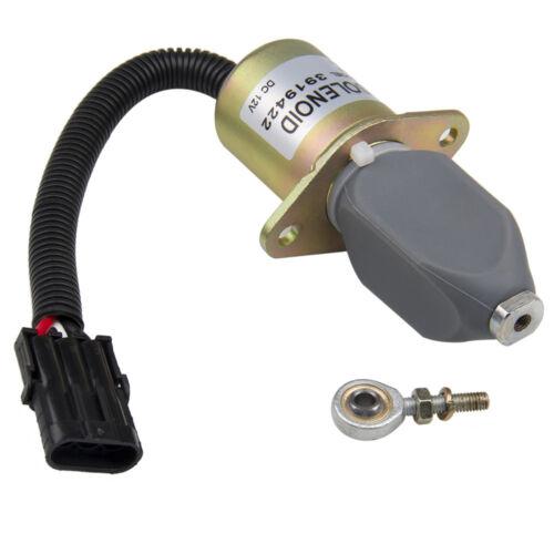 Top Fuel Shut Off Solenoid For Ford Cummins Diesel 2-1//2 bolt spacing 8.3L 5.9L