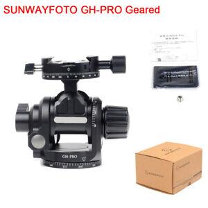 New-SUNWAYFOTO-GH-PRO-Geared-Head-Made-for-Gitozo-Manfrotto-Benno-Tripod-Camera