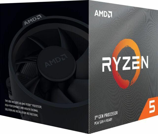 AMD - Ryzen 5 3600 3rd Generation 6-Core - 12-Thread - 3.6 GHz (4.2 GHz Max B...