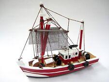 Fishing Magician Starter Boat Kit: Build Your Own Fishing Boat Wooden Model Ship