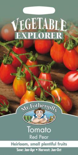 Monsieur Fothergills-paquet illustré-légumes-tomate red Pear 75 graines