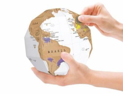 3d Globe Creative Scratch Tellurio Insegnamento Educativo Studente Strumenti Di Geografia-mostra Il Titolo Originale Assicurare Anni Di Servizio Senza Problemi