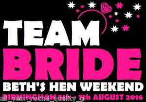HEN NIGHT HEN DO IRON ON TRANSFERS PERSONALISED FOR T SHIRTS New* j