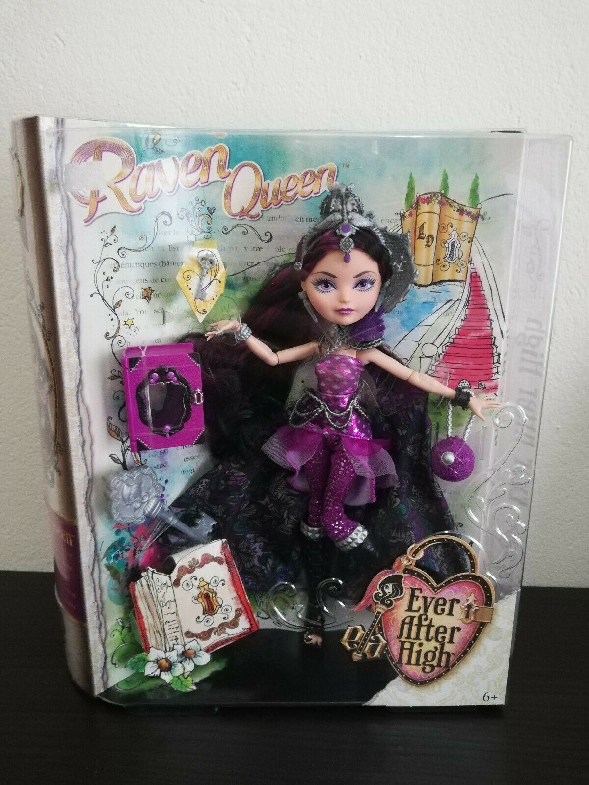 Ever After High 'Legacy Day' Raven Queen Daughter of The Evil Queen HTF New