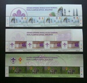 SJ-Malaysia-Grand-Opening-Of-World-Scout-Bureau-KL-2014-stamp-title-MNH