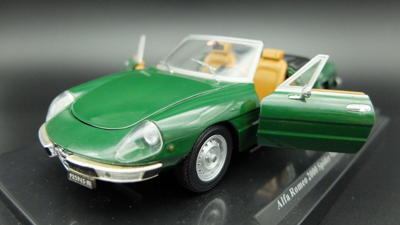 MODELLINO AUTO ALFA ROMEO ROMEO ROMEO SPIDER 2000 1 24 CAR MODEL DIECAST MODELL MODELO COCHE a52304