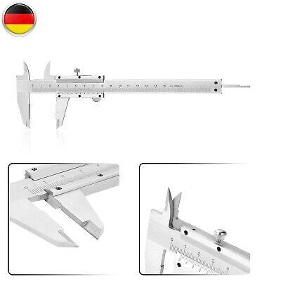 Messschieber Schieblehre Nonius Meßschieber Analog Präzision 0-150mm ±0,02mm+BOX