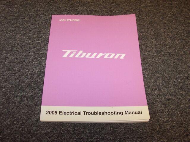 2005 Hyundai Tiburon Coupe Electrical Wiring Diagram