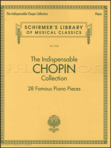 The Indispensable Chopin Collection Piano Sheet Music Book Classical Frederic