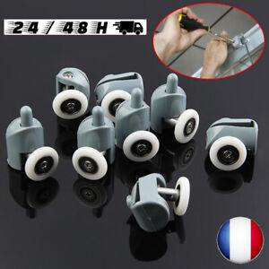 Lot-de-8-roues-roulettes-galets-pour-porte-de-cabine-de-douche-mecanisme-roue-FR