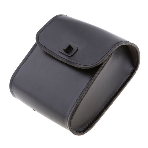 Black Motorcycle Bicycle Saddle Bags Storage Fork Tool Pouch Universal