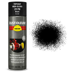 Details about x16 Ultra-High Coverage Rust-Oleum Gloss Black Spray Paint  Hard Hat RAL 9005