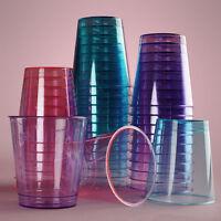 1-ounce Shot Glasses Pink Purple Blue Party Cup Supplies Disposable Shot Glass