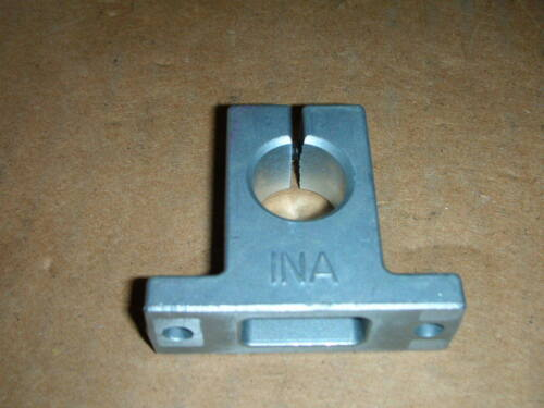 INA Schaeffler GW16 Linear Guide Shaft Support Block 16mm Bore 25mm High SBM16