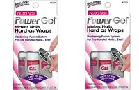 Set Of 2 Nutra Nail Power Gel Nail Hardening System 1245 - 2 Complete Sets