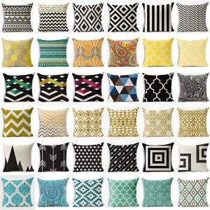 Bohemian-amp-Moroccan-Geometric-Cotton-Linen-Pillow-Case-Square-Cushion-Cover