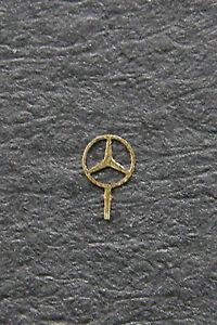 Mercedes-Benz STERN Star Logo Cooling 1,75mm gold 1:43 ...