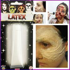 1 * Látex componen Halloween Horror vestido de lujo de hacer más fresca cicatriz Pintura Líquida