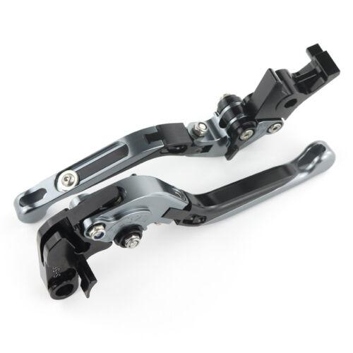 Extendable Adjustable Folding Clutch Brake Lever For Suzuki GSX-R 1000 2007 2008
