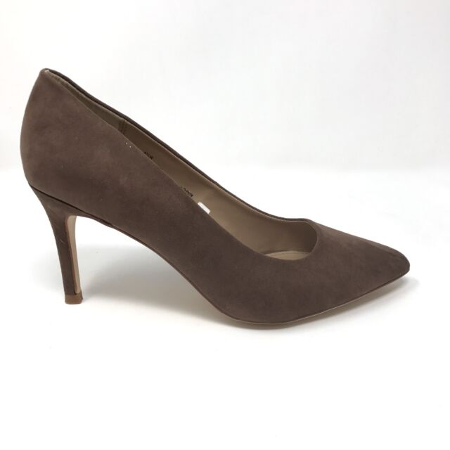 e11b2fe5f A New Day Gemma Pointed Toe Heels Women s Size 6.5 Wide Coffee Bean Brown  NEW