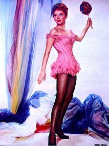 Pinup-Lithograph-Milly-Vitale-1955-VTG-Paramount-Original-Litho-Promo-Photo-Rare