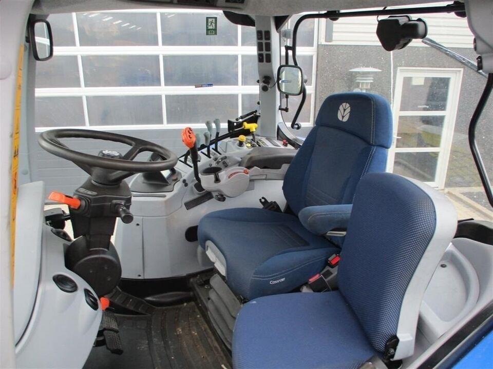 New Holland, T7.165S Med frontlift, affederet foraksel