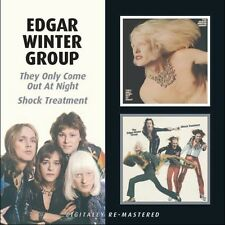 Edgar Winter - They Only Come Out at Night / Shock Treatment [New CD]