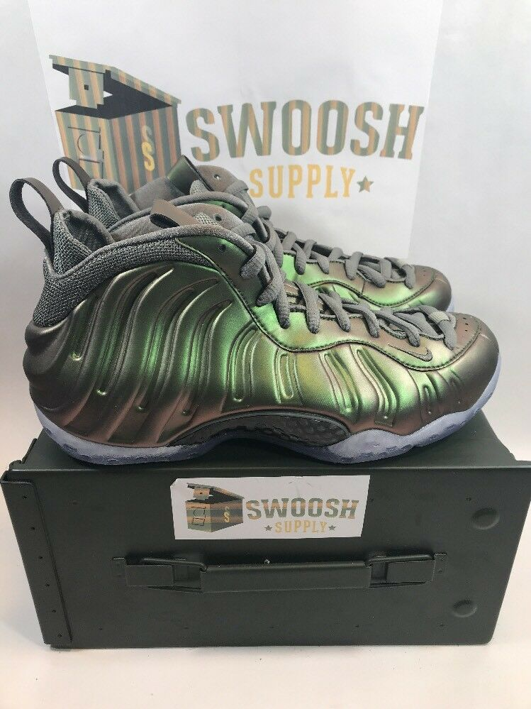 Nike Womens Air Foamposite One Dark Stucco Size 9 Mens 7.5 Pro AA3963-001