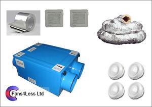 HRU100-recuperacion-de-calor-Ventilacion-Condensacion-4-Habitacion-Kit-completo