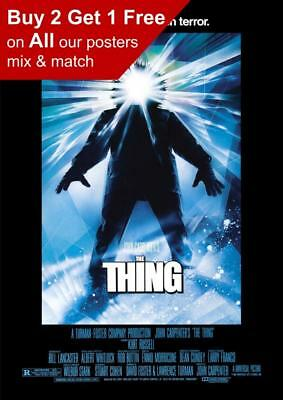 The Thing Movie Prints A4 A3 The Thing Poster