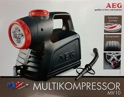 AEG Multikompressor MV10 Kompressor Volumenpumpe Hochdruckkompressor bis 10 bar
