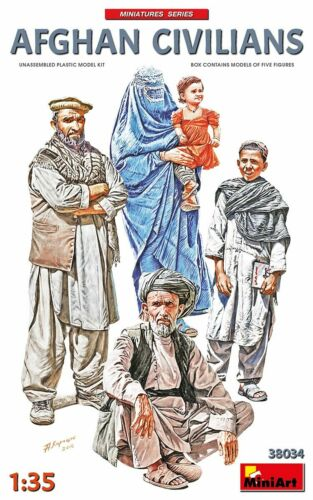MINIART #38034 Afghan Civilians Figuren in 1:35