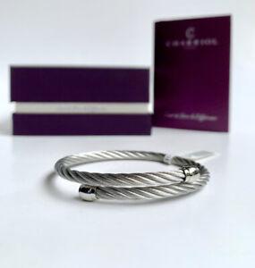 Charriol * Bangle Celtic Sceau Silver Stainless Steel & Titanium 04-101-00144-1S