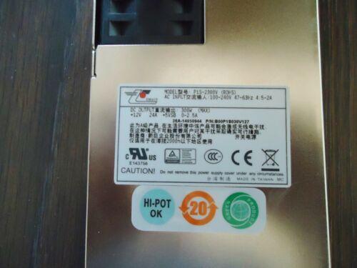 4.5-2A 47-63 Hz NEW EMACS P1S-2300V SERVER POWER SUPPLY 100-240V 300W