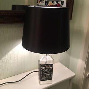 Spirit bottle lampjack daniels bottle free shipping ebay image is loading spirit bottle lamp jack daniels bottle free shipping aloadofball Images