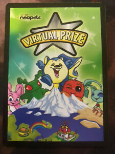 Neopets Rare Item Code Virtual Prize Enterplay 2008 Email No Ship Ebay