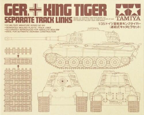Tamiya German King Tiger Separate Track Links 1:35 Scale #35165