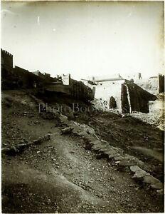 MAGHREB-MAROC-Tanger-ca-1910-Photo-Stereo-Plaque-Verre-VR3L2