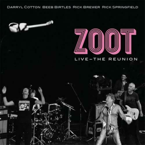 ZOOT Live - The Reunion CD/DVD BRAND NEW Rick Springfield Daryl Cotton NTSC ALL